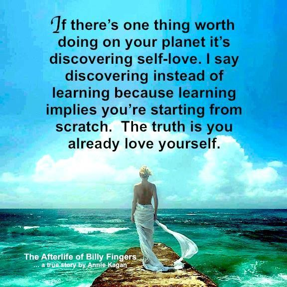 DISCOVERING SELF-LOVE.