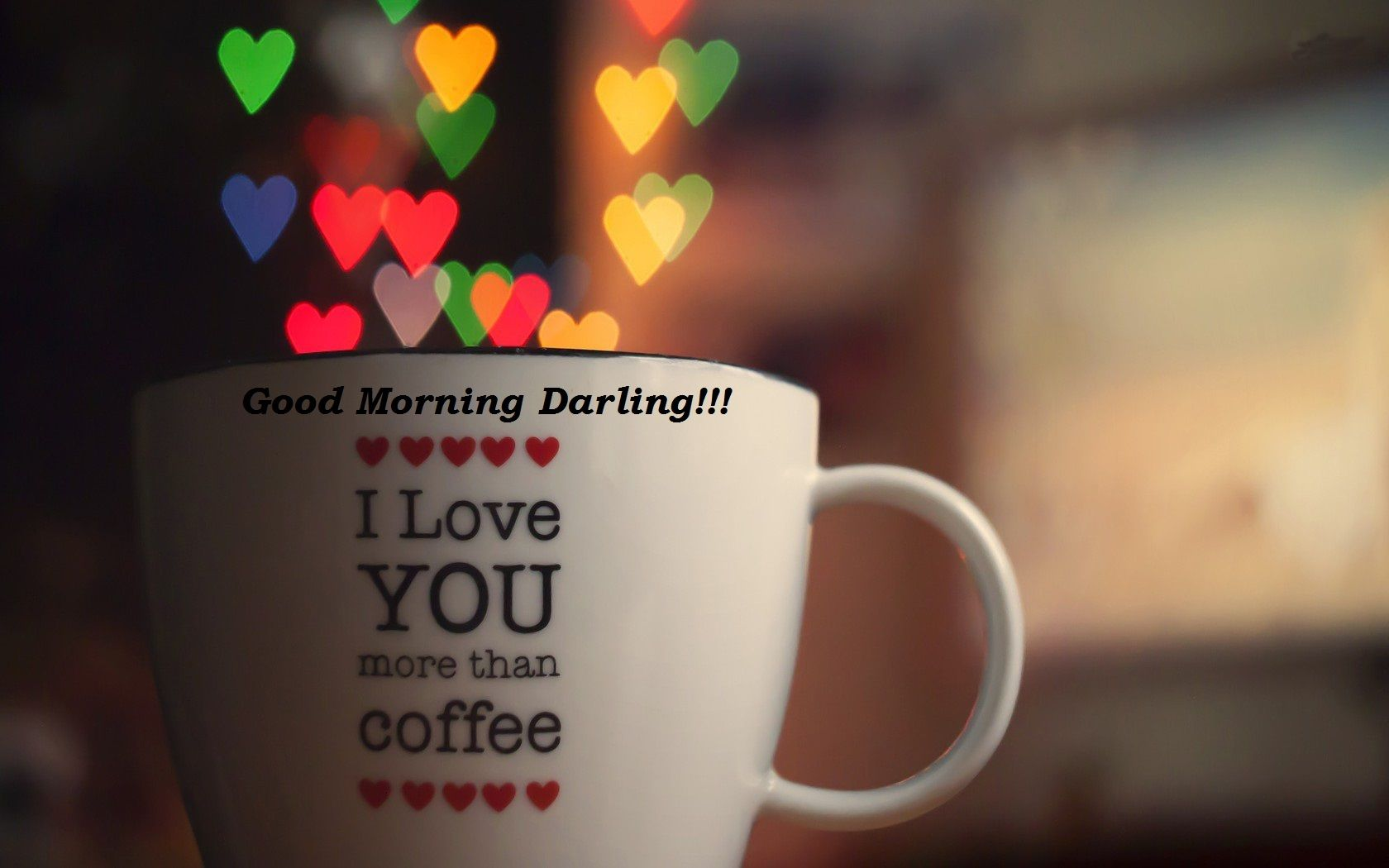 Coffee Lovers Love Hd Wallpapers: Good Morning Images For Girlfriend