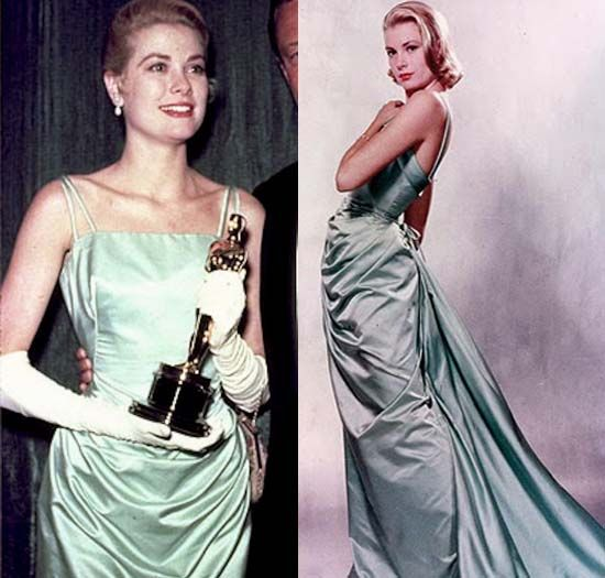 Art print POSTER Grace Kelly Wearing Gown by Edith Head