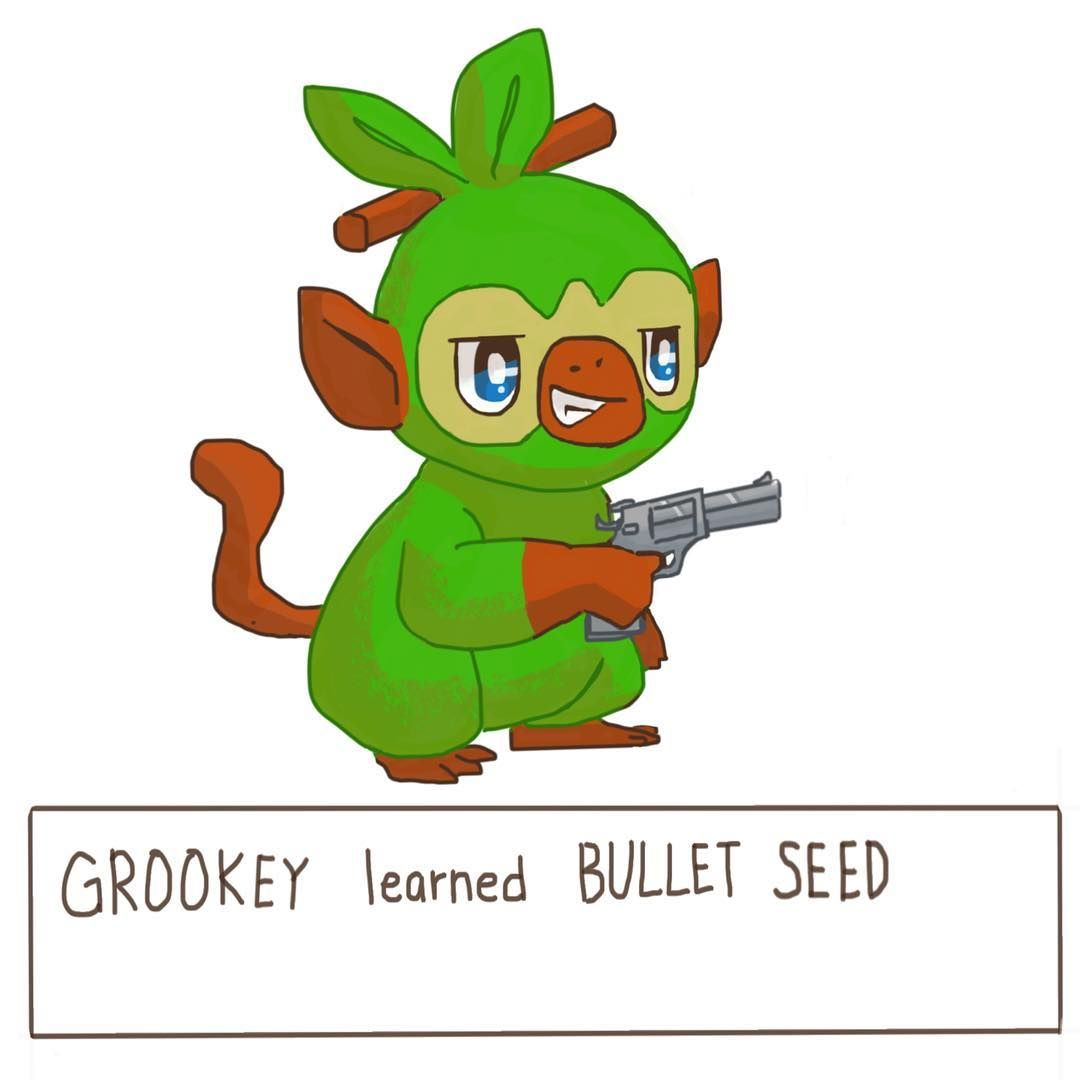 Visit Https Www Reddit Com R Pokemonswordandshield Pokemonsword Pokemonshield Pokemonswordshield Grookey Scorbunny Sob Pokemon Hield Mario Characters You can find grookey in the following locations: pinterest