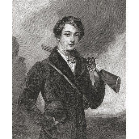 John James Robert Manners 7Th Duke Of Rutland Aged 17 1818 Canvas Art - Ken Welsh Design Pics (14 x 17)