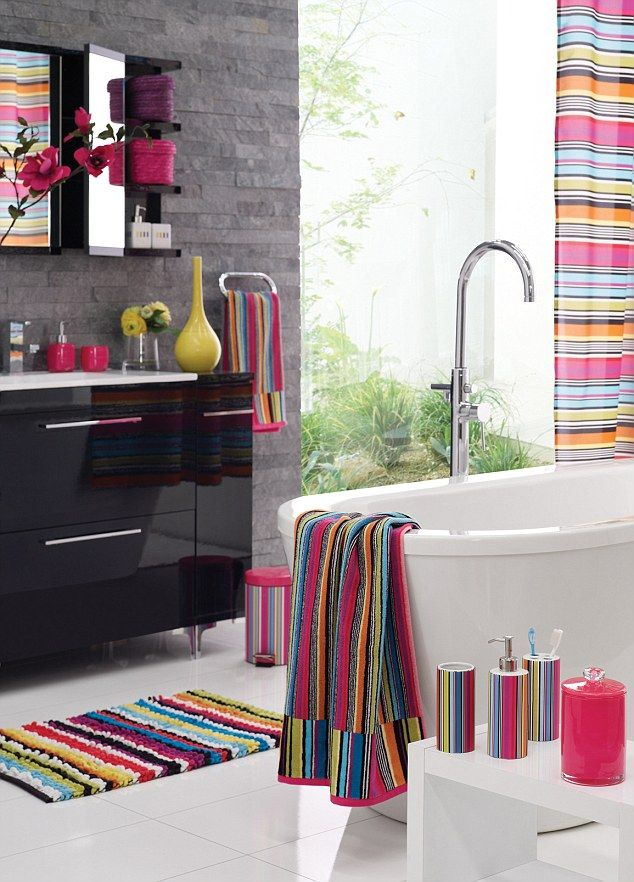 Geometry Class Dont Panic You Dont Need A Ruler And Set Square - Bright bath mat for bathroom decorating ideas