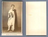 Algerie Arabe De La Plaine Vintage Carte Visite CDV Tirage