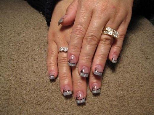 Short acrylic nail designs cute glitter short nail design short acrylic nail designs cute glitter short nail design mybeautypage prinsesfo Images