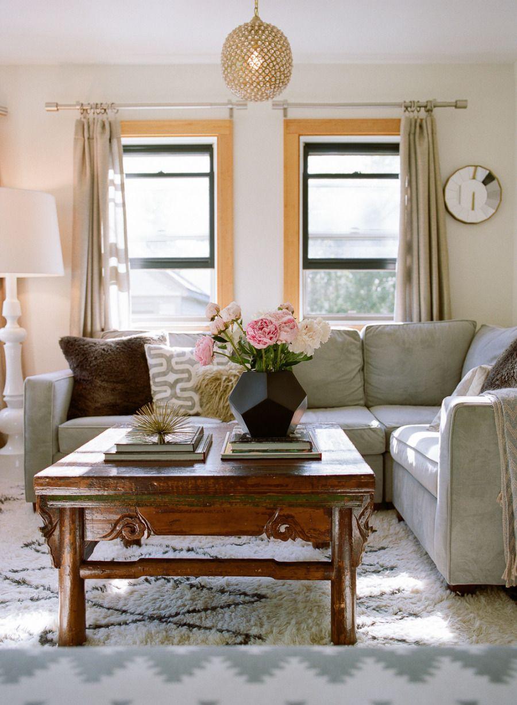 West Elm Living Room Henry Sectional Kasbah Rug From West Elm Home Pinterest