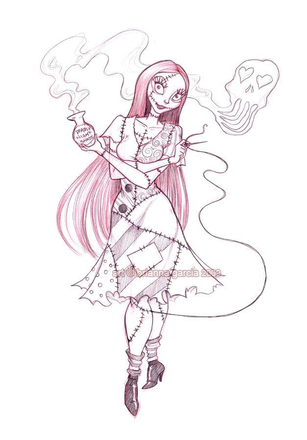sally sketch by briannacherrygarcia.deviantart.com on @deviantART ...