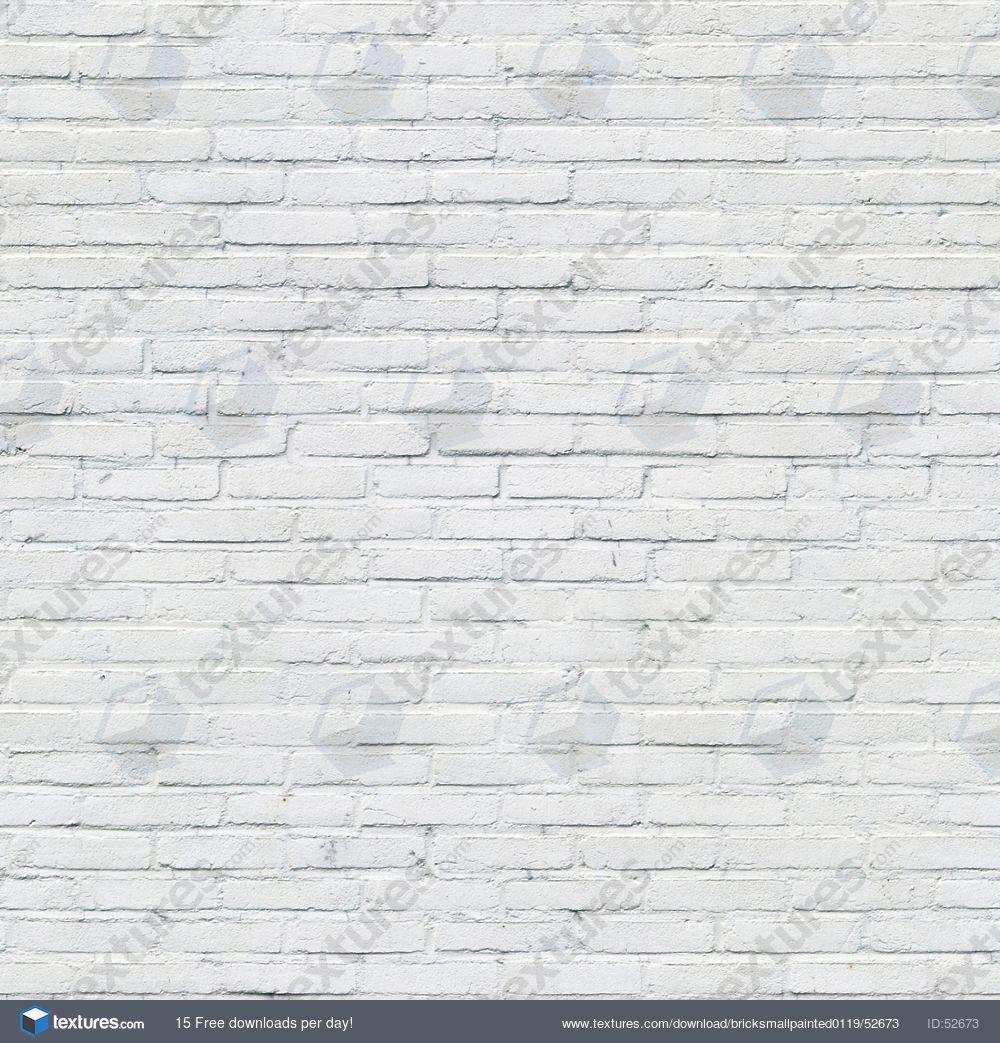 Textures Com Bricksmallpainted0119 White Brick Walls White Brick Wallpaper Brick Wall