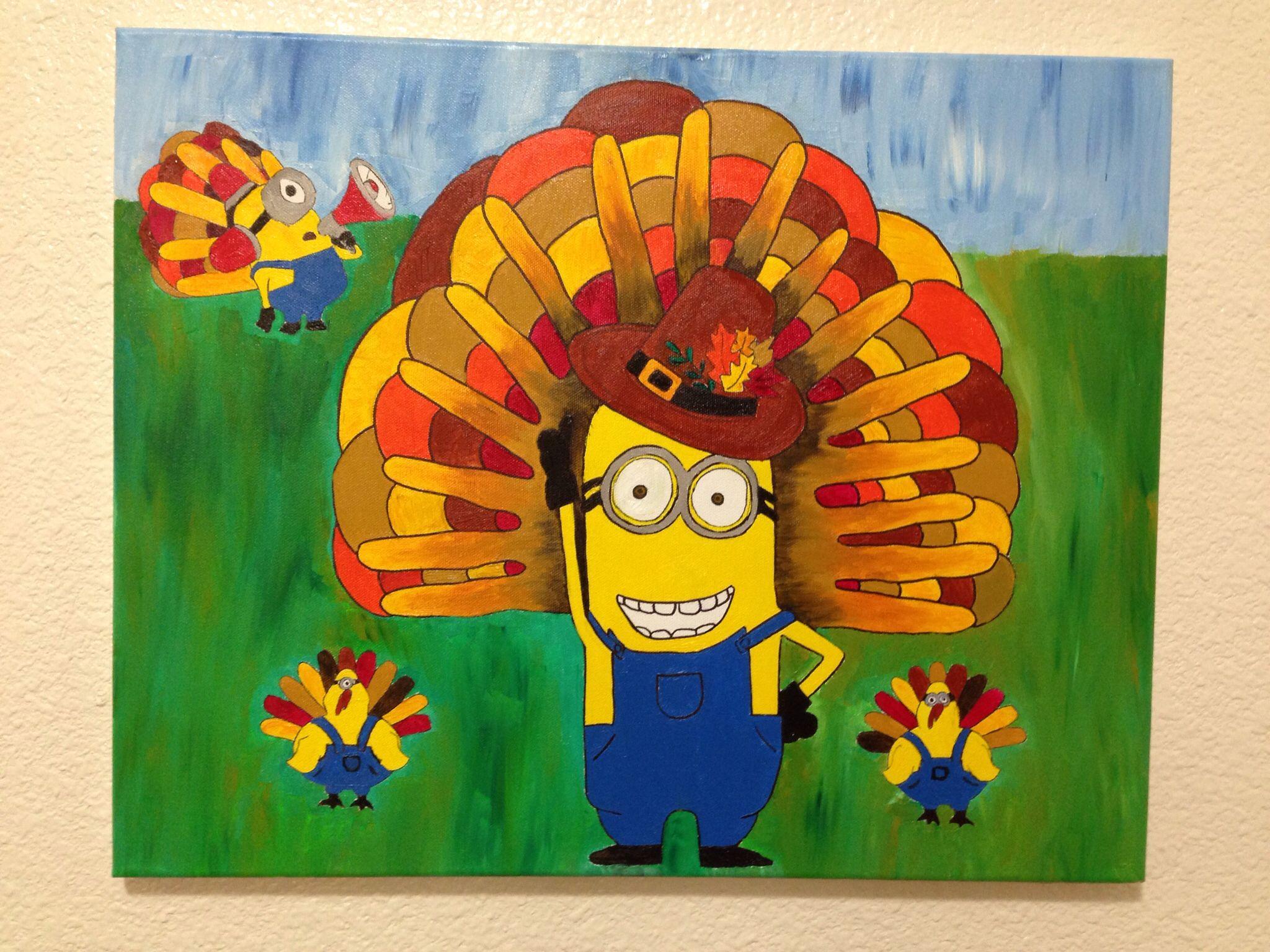 Thanksgiving Minion Style