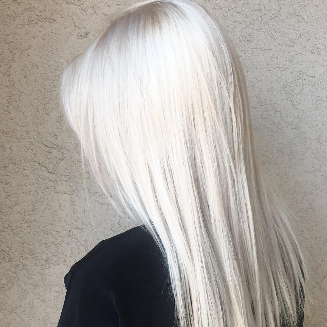Snow white by hairbykatey icyhair blondeuc pinterest