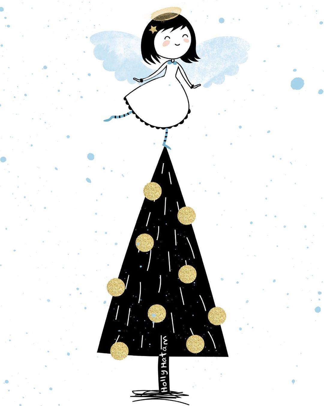 christmas angel which one do you guys like better illustration childrensillustration - What Do Guys Like For Christmas