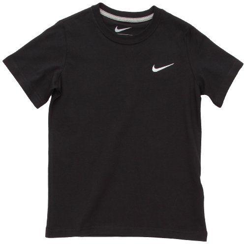De este modo hipocresía Valiente  Nike Small Swoosh 2 - Camiseta deportiva para mujer negra - Camiseta   Mens  tops, Mens tshirts, Mens graphic tshirt