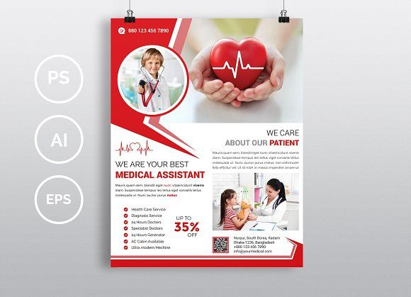 Doctor  Medical Flyer Vol-09 by Imagine Design Studio on