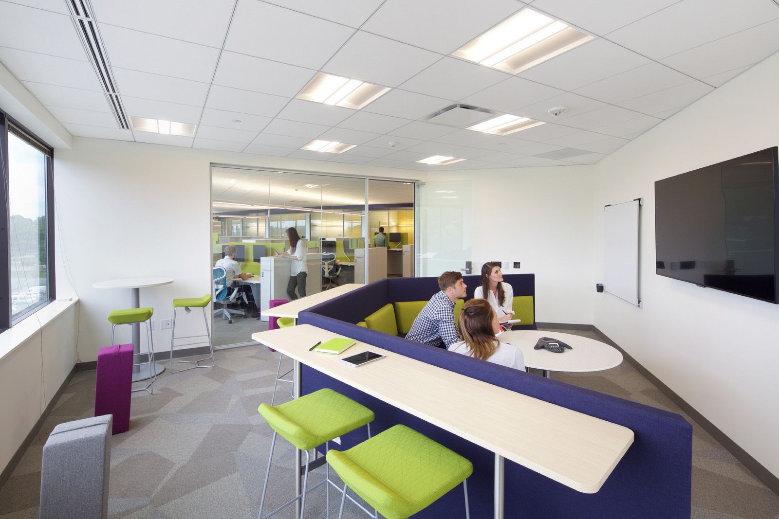 Office Tour: Vertex Headquarters – King of Prussia | higher ed