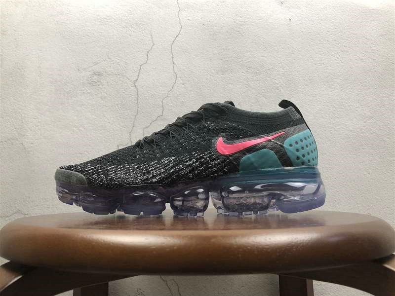 new york 50% price look out for Mode Unisex Nike Air VaporMax 2 0 Flyknit Black Noir Blue Red 852 ...