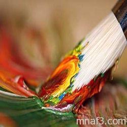 برنامج فنيات العلاج النفسي بالرسم رجال نساء Abstract Painting Art Techniques Painting