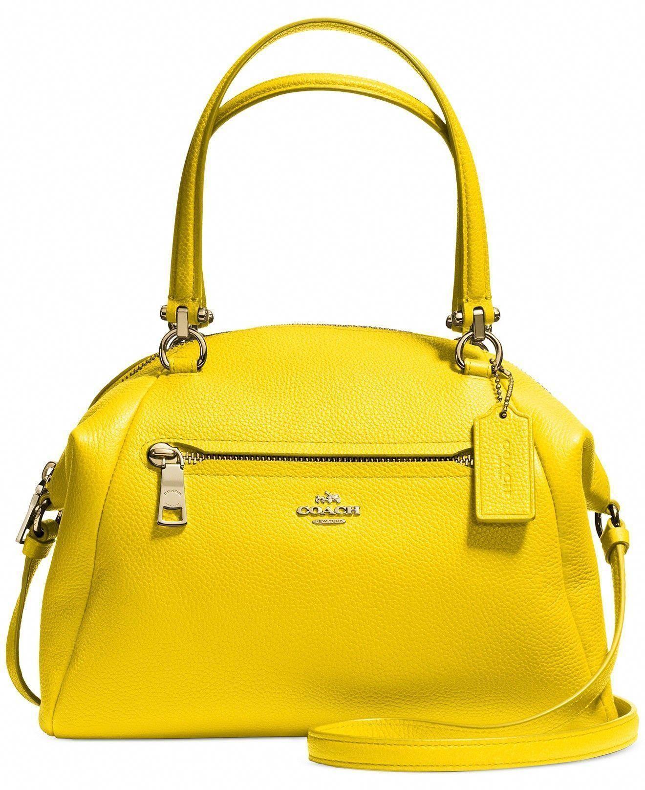2568777e08 COACH PRAIRIE SATCHEL IN PEBBLE LEATHER - COACH - Handbags Accessories -  Macys #Designerhandbags #coachpebbleleathercrossbodybag #pursesmacys
