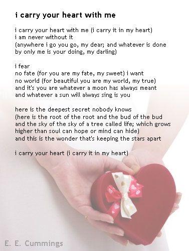 My Favorite Poem Ee Cummings