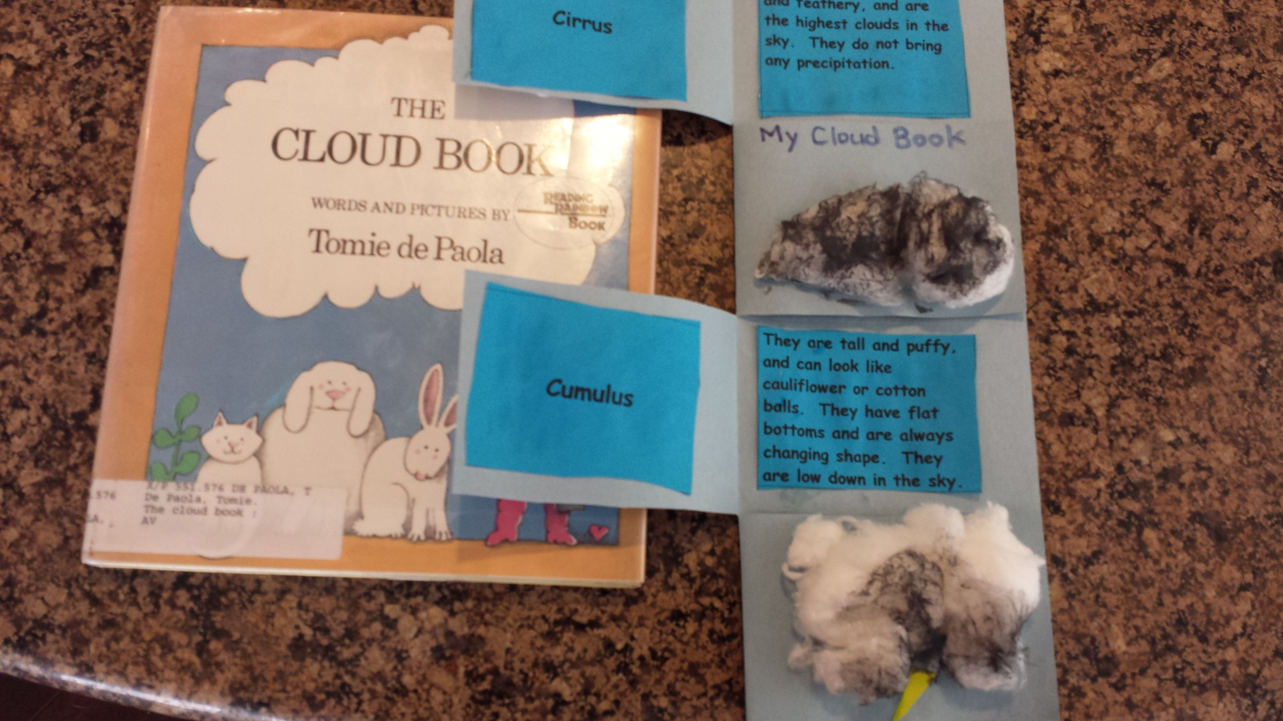Types Of Cloud Flip Book With Images