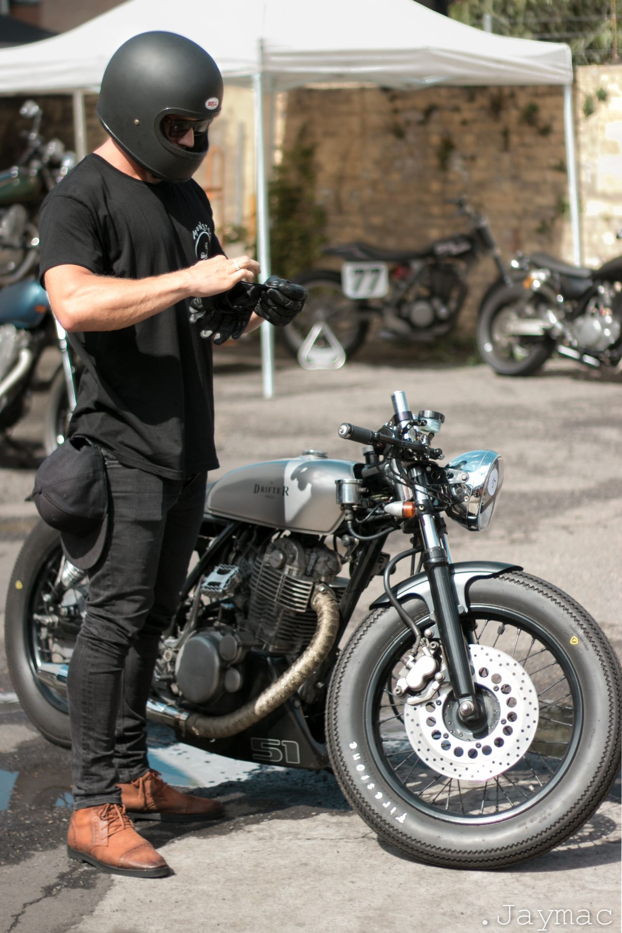 the 25+ best cafe racer clothing ideas on pinterest | triumph