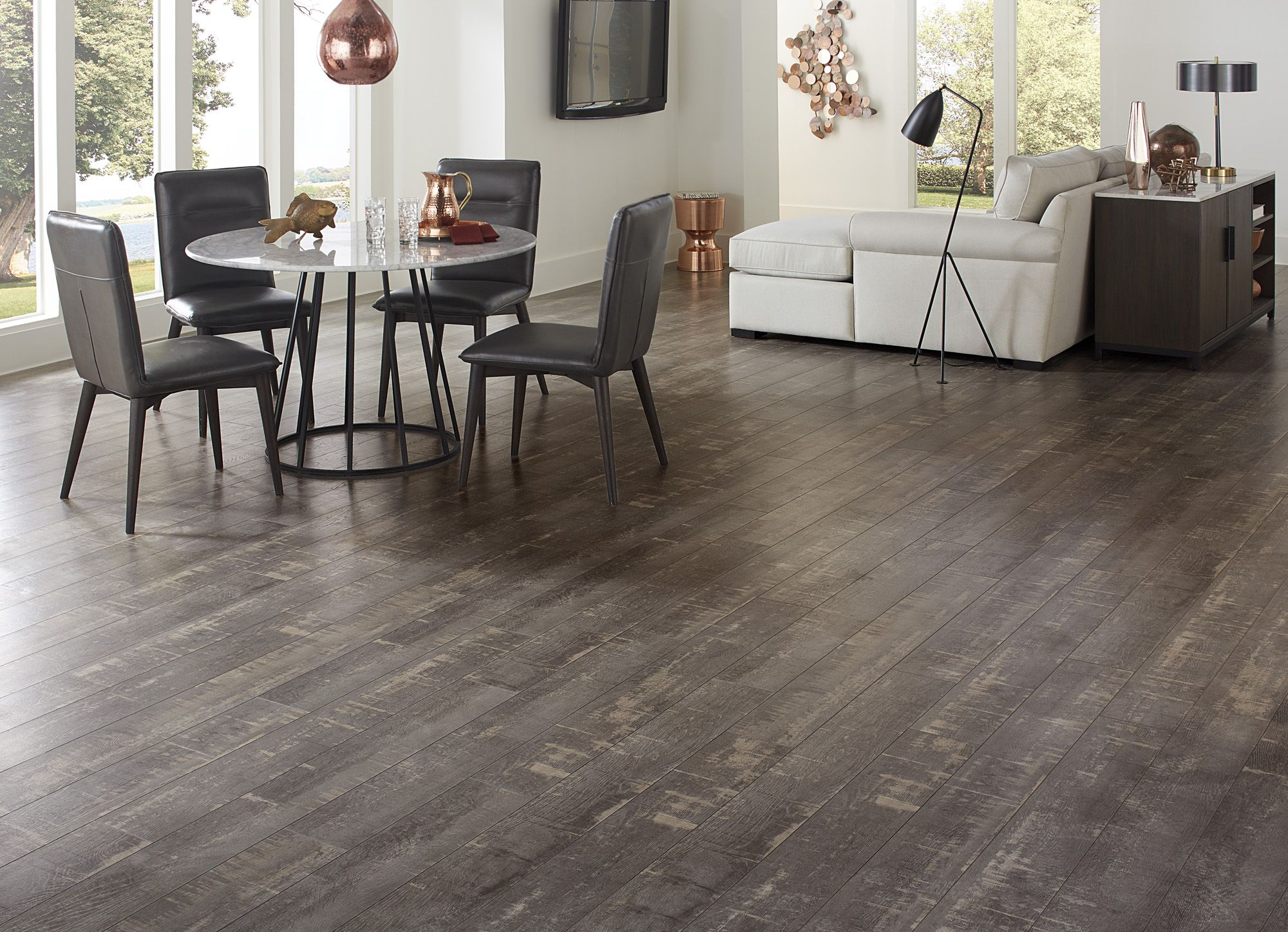 Row House Oak Dream Home Laminate A Taupe Color With Traditional Graining
