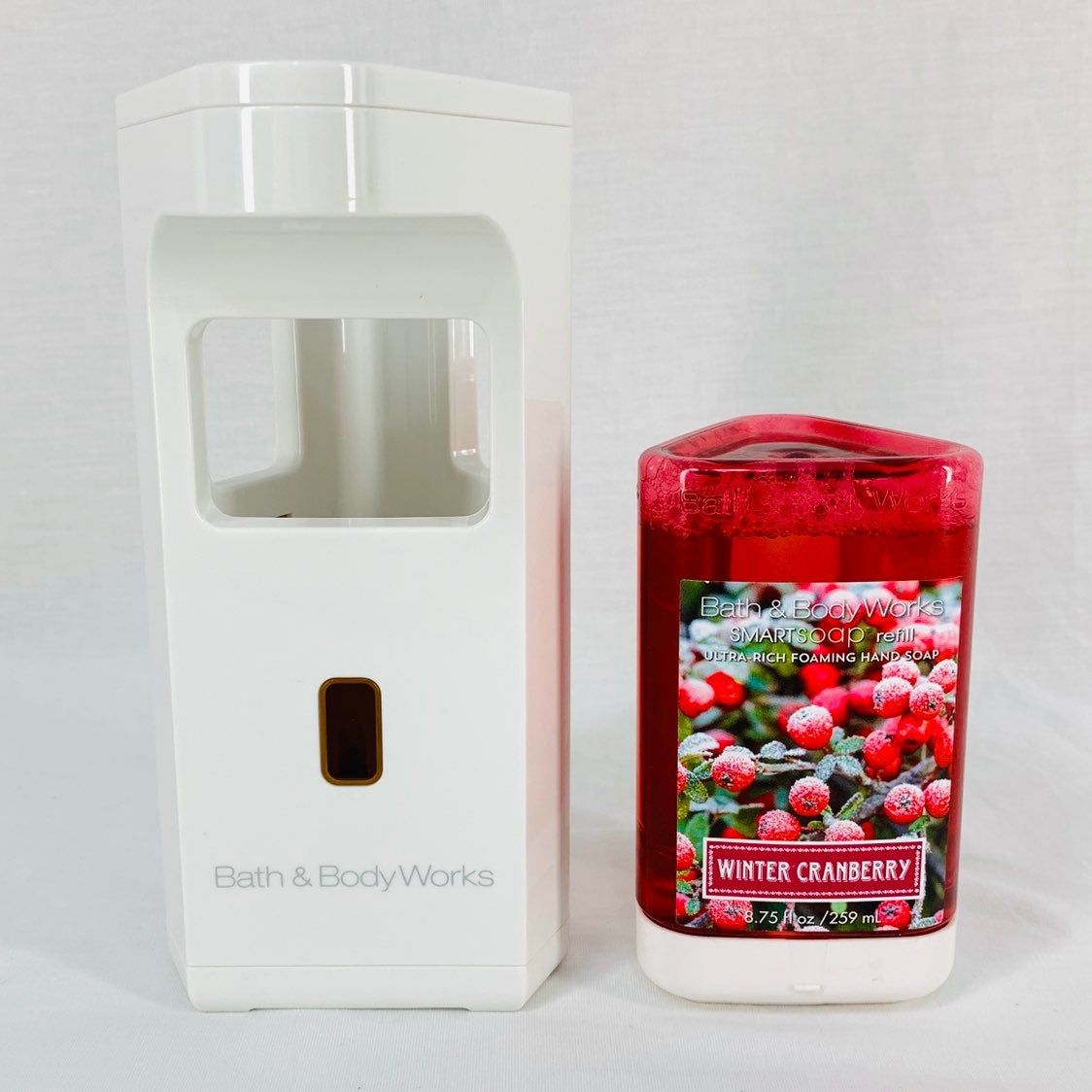 Bath Body Works Smart Soap Dispenser Refill Winter Cranberry Tested Works Item Is Currently Discontinued Lig Bath And Body Works Bath And Body Cranberry