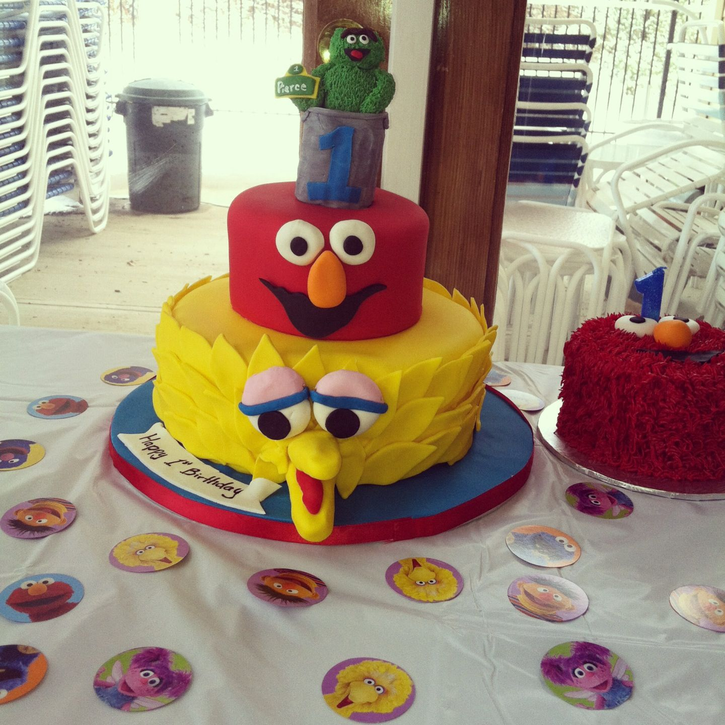 Pierce's birthday cake!