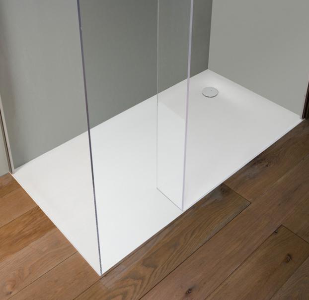 Antonio Lupi - shower tray - 2010 - 00 - Nevio Tellatin - Corian - 70/80/90/100/110/120/130/140 x max. 300 cm.