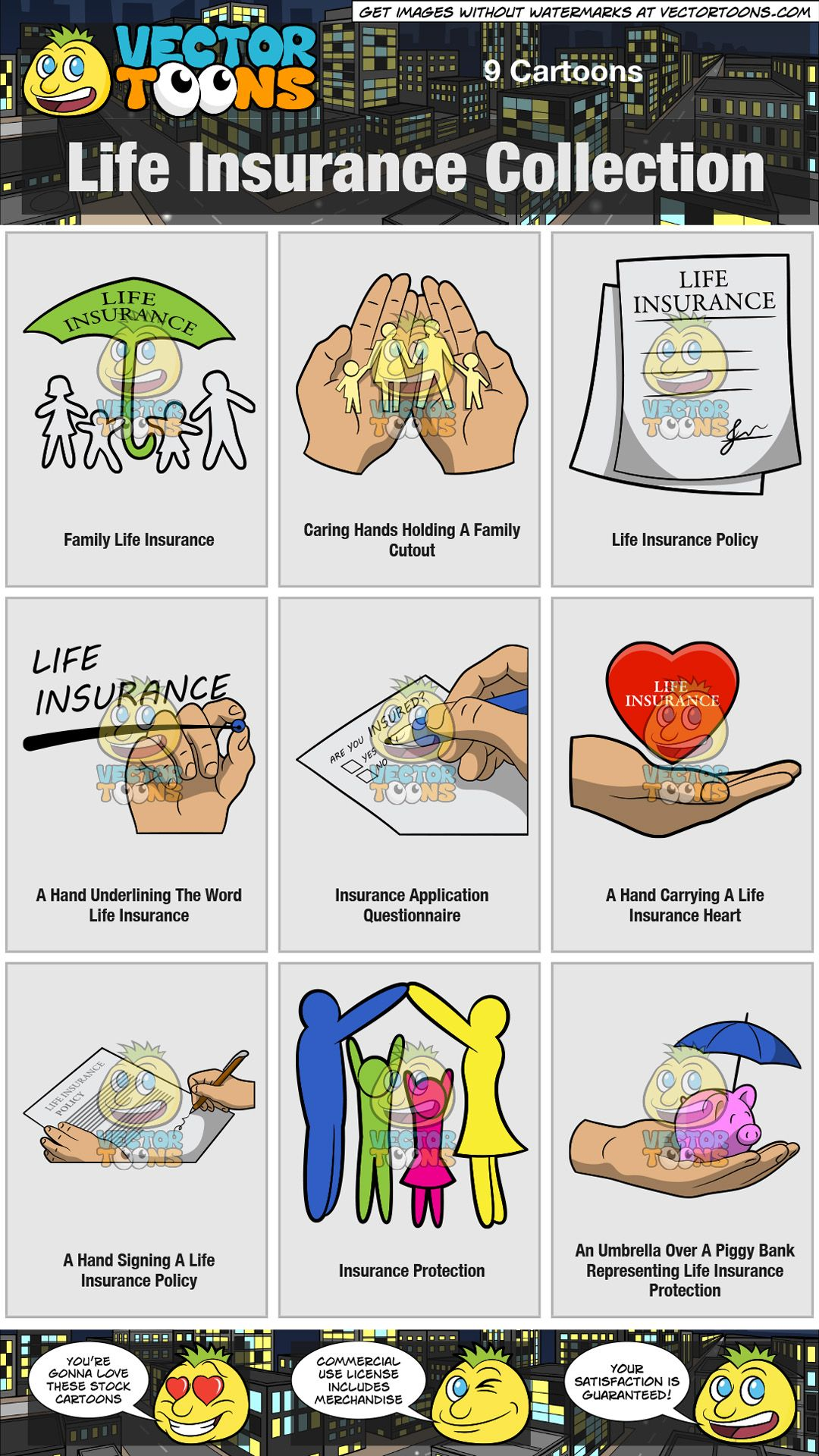 Life insurance collection family life insurance life