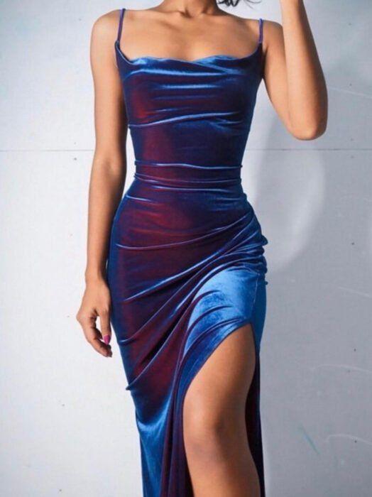 15 Vestidos con efecto holográfico para volverte e