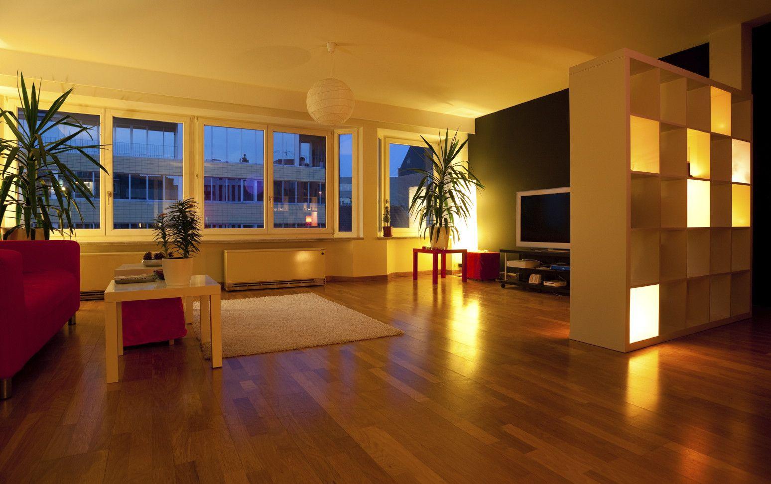 kreative beleuchtungsideen für wohnzimmer_indirekte beleuchtung ...