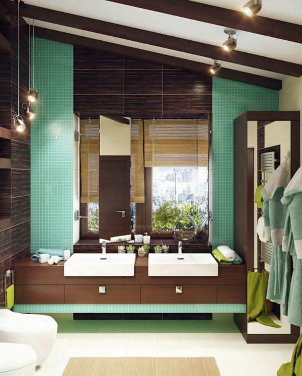 badezimmer einrichtung gr ne elemente badezimmer. Black Bedroom Furniture Sets. Home Design Ideas