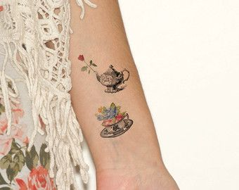teacup and teapot tattoo - Google Search | Tattoos&&Piercings ...