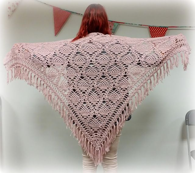 2x Omslagdoek Ananas Steek Made By Jenine Crochet Pinterest
