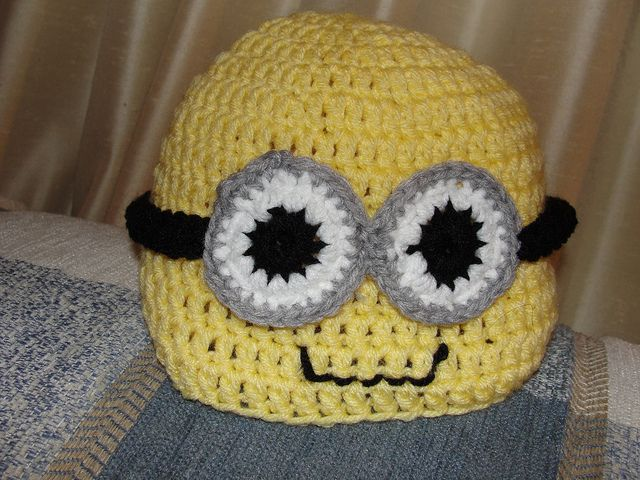 Despicable Me Minion Hat Free Crochet Pattern Fun With Yarn