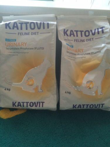 2 X 4Kg Kattovit Urinary Katzen Trockenfutter Thunfischsparen25