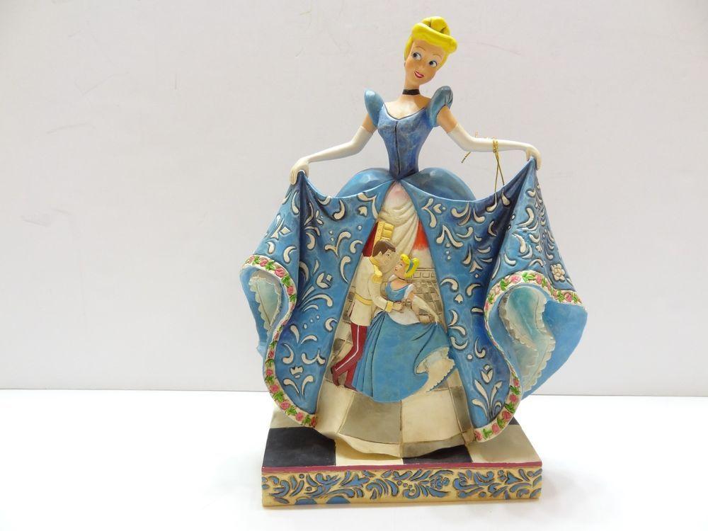 Enesco Jim Shore Disney Traditions Cinderella 65th Anniversary New 4043645