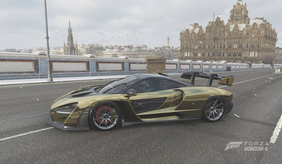 Forza Horizon 4 - McLaren Senna - Edinburgh, North Bridge