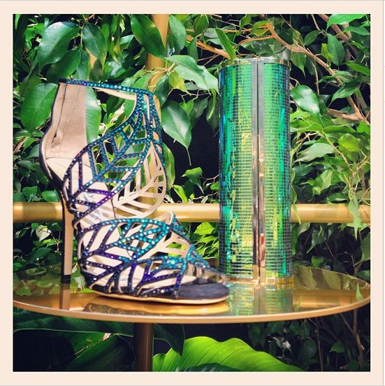 Jimmy Choo Spring 2014 on Instagram