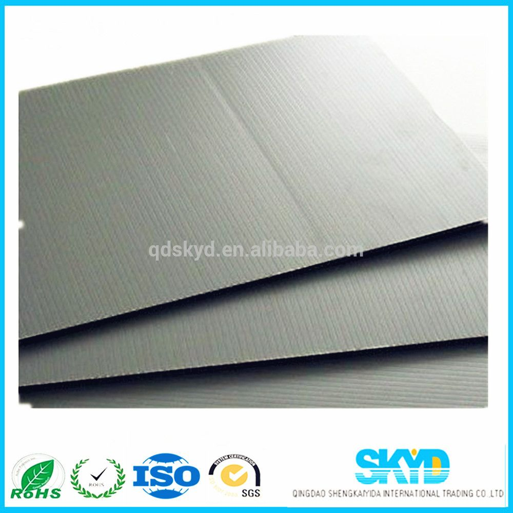 Black Corrugated Corflute Sheet Corrugated Plastic Plastic Packaging