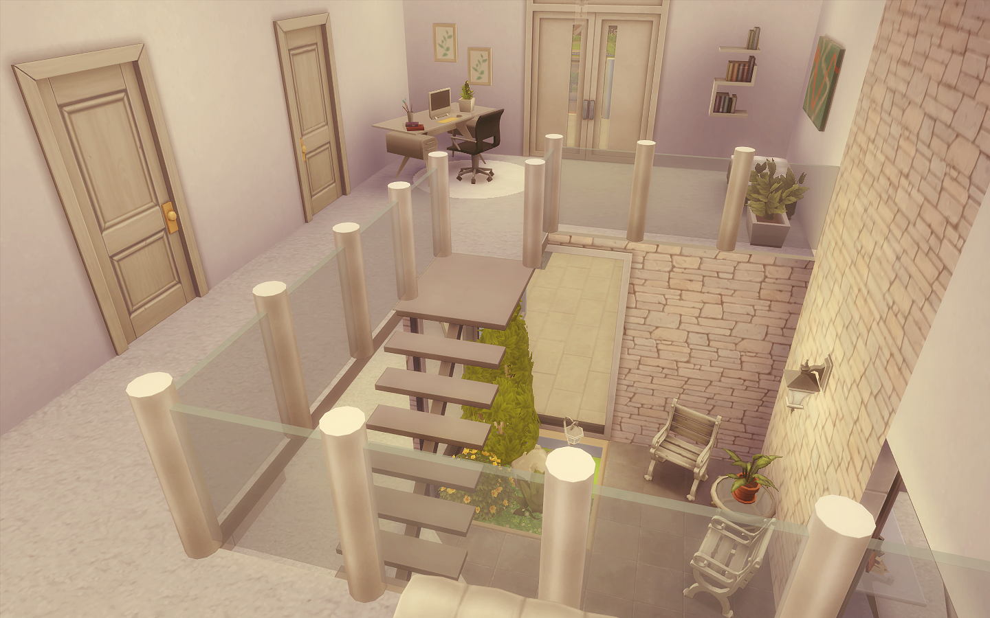 House 10 - The Sims 4 | Sims Haus, Haus ideen und Lilien