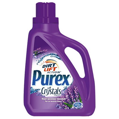 Purex Laundry Detergent With Crystals Fragrance Laundry