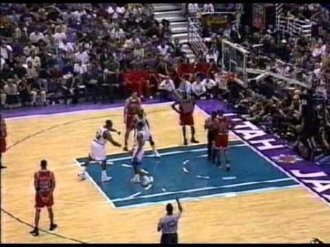 1998 Nba Finals Game 6 Chicago Bulls Vs Utah Jazz Nba Finals Game Nba Finals Utah Jazz