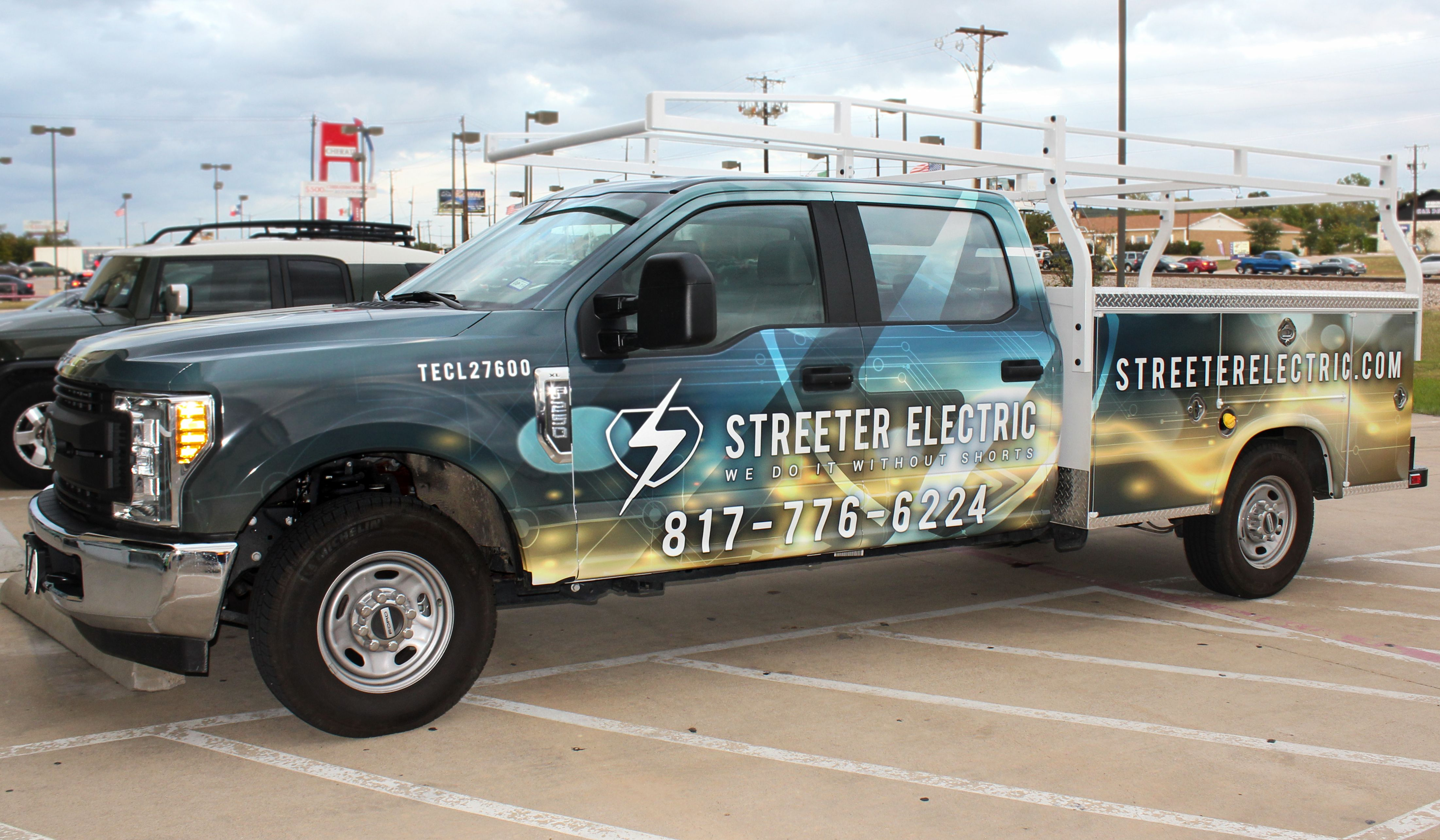 Electrical Company Utility Truck Design