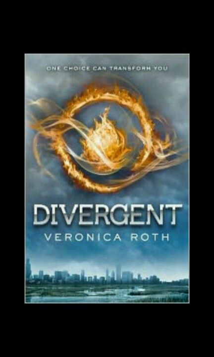 """Divergent - Veronica Roth ... Where has this book been all my life? So creative!! Go read this before the movie comes out--it was fantastic. If you like the Hunger Games, you'll like this for sure. Great characters and really unique story-kids have to choose """"factions"""" to be in for life and they each believe in one moral that they need to live by (honesty, bravery, kindness...) SO GOOD"""