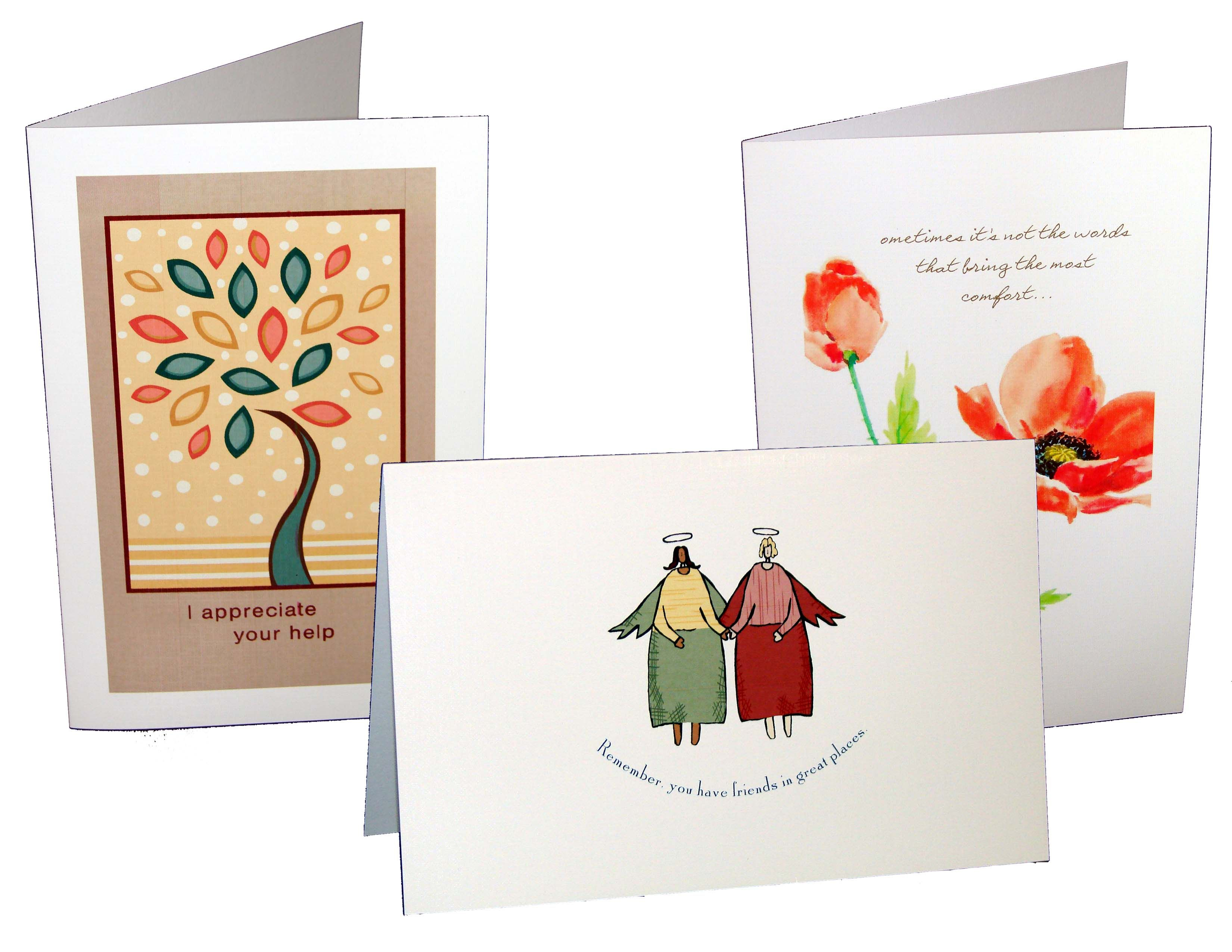 Get Beautiful Greeting Cards Printing With Die Cut And Custom
