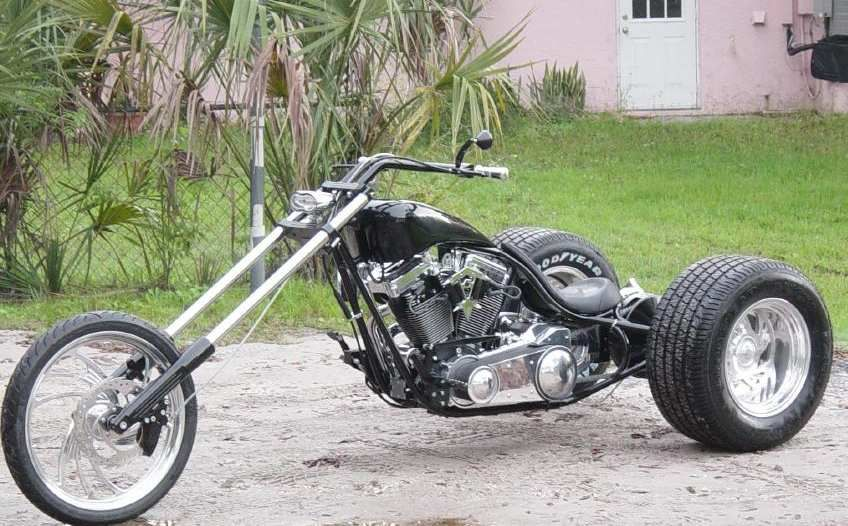 chopper trike frame xs1100 google search - Motorcycle Frame For Sale