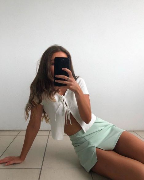 ribbed white front tie shirt front tie cardigan tshirts rib  long sleeve summer shirts open front cropped t shirs #tiefront #white#rib #longsleeve #shirt #tshirts