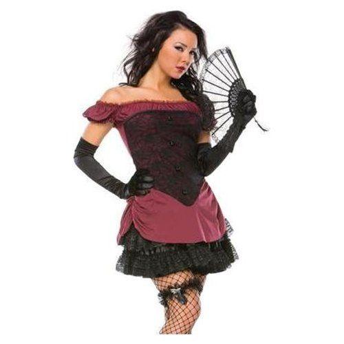 victorian halloween costumes Sexy Victorian Burlesque Saloon Girl - halloween girl costume ideas