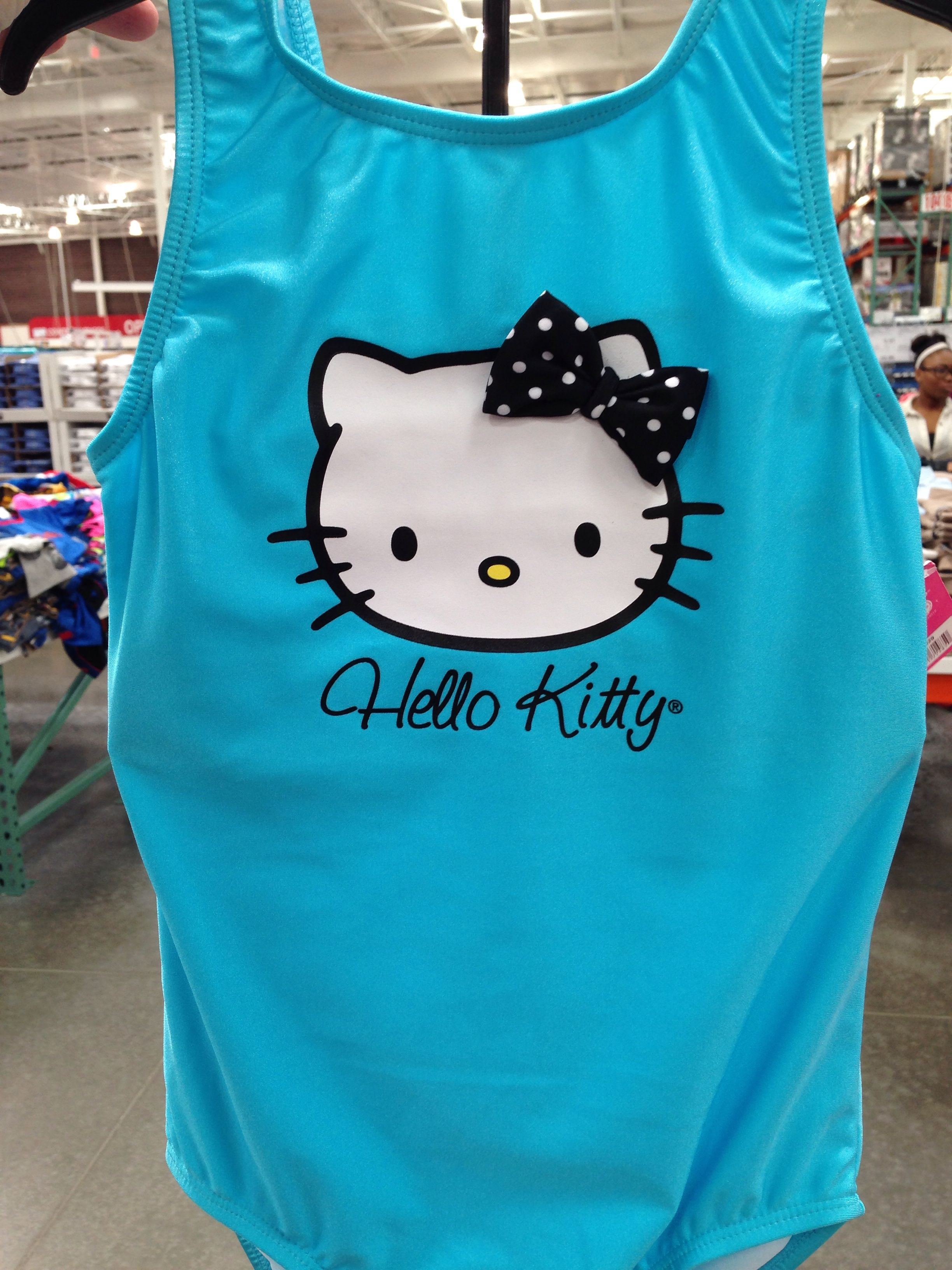 a7c0a4a8cd3b3 Hello Kitty swimsuit at Costco! | Kitty Kitty | Hello kitty, Kitty ...
