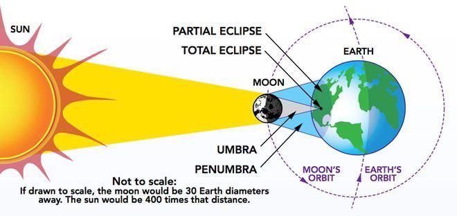 Solar Eclipse Geometry Solar Eclipse Solar Eclipse Facts Solar Eclipse Activity